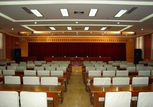 北京怀柔区发改委报告厅会议音视频系统