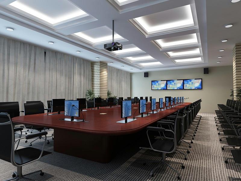 多媒体会议室音响设备的连接要点