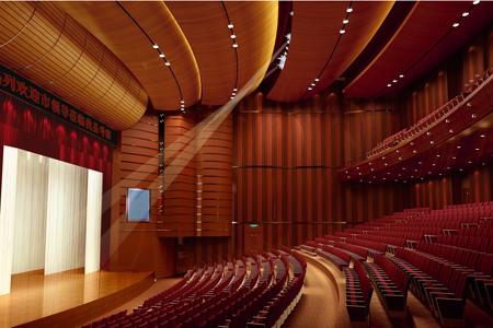 威县影剧院扩声系统工程由ZOBO卓邦音响打造