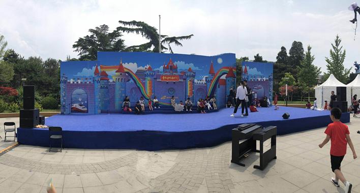 六一儿童节《新时代儿童音乐计划》演出音视频系统由ZOBO卓邦打造