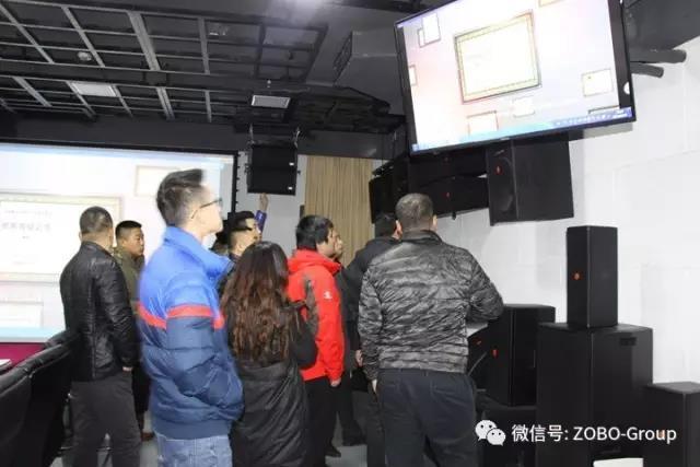 ZOBO卓邦 【帮客户】之12月系统集成商来公司参观培训