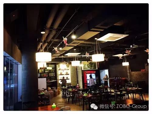 ZOBO卓邦PRS音响打造上海老北京火锅店音视频系统
