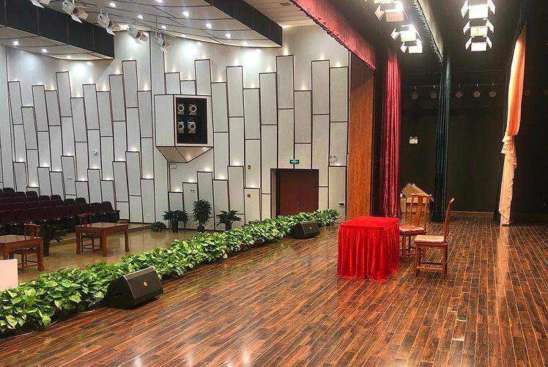 周家务剧院使用PRS舞台音响设备