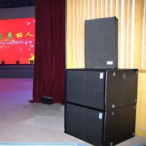 音响设备效果是营造舞台气氛的重要手段