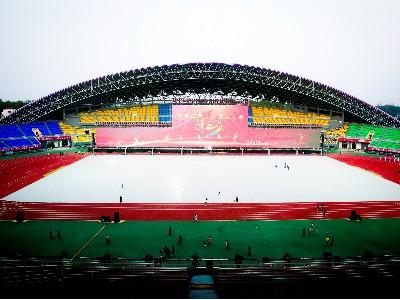 河南省第十三届运动会开幕式扩声系统由ZOBO卓邦PRS音响打造