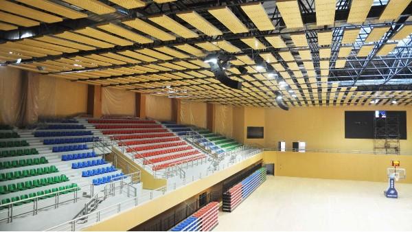 ZOBO卓邦为江西省遂川市全民健身中心体育馆打造扩声系统