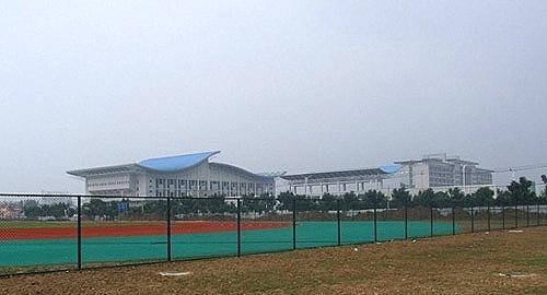 安徽阜阳体育中心综合体育馆扩声系统由ZOBO卓邦打造