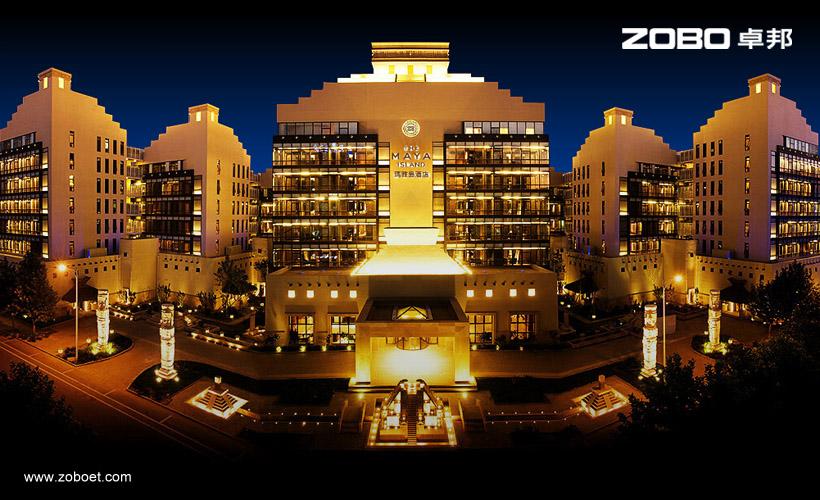 玛雅岛酒店音响扩声工程
