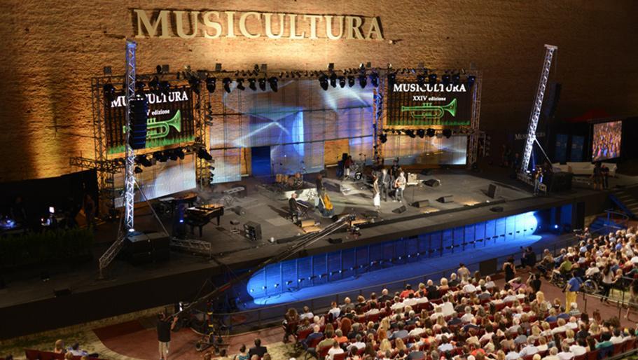 意大利Musicultura音樂節音視頻系統