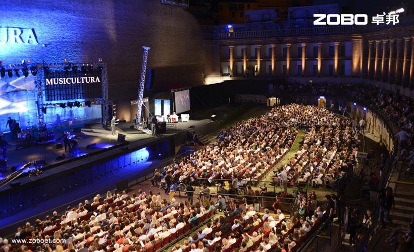 意大利Musicultura音乐节音频扩声系统