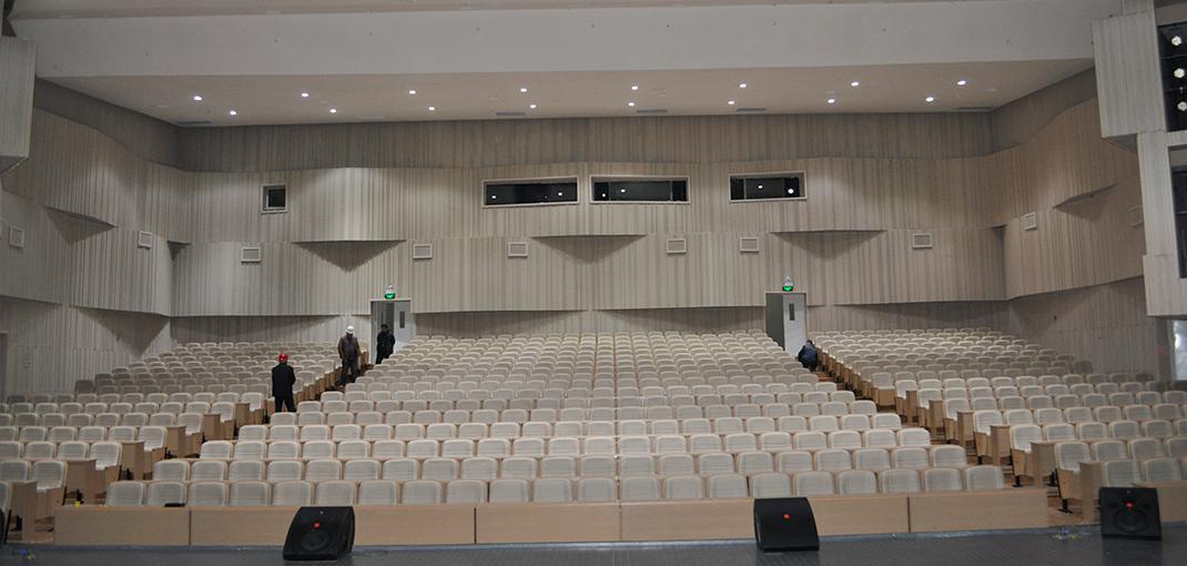 金昌花文化博览馆音频扩声系统