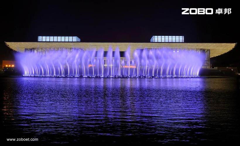天津大剧院音乐喷泉音频扩声系统