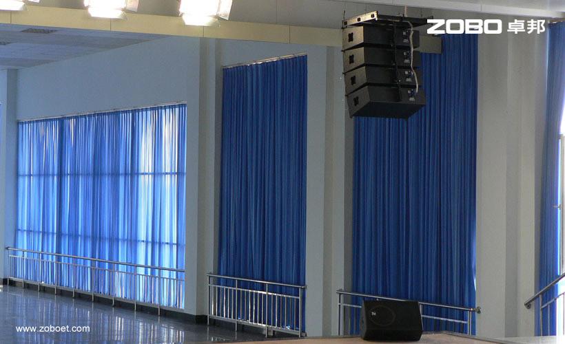 龙星化工多功能厅音频扩声系统