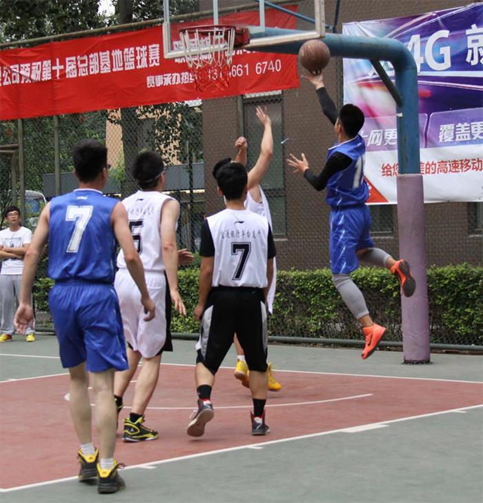 ZOBO卓邦篮球赛四战