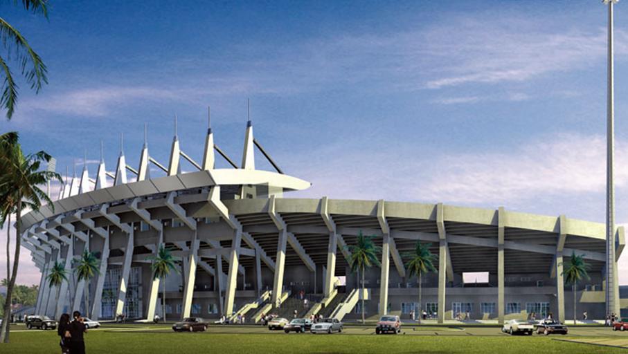 巴哈马国家体育馆音视频系统