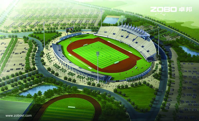 巴哈马国家体育馆音频扩声系统