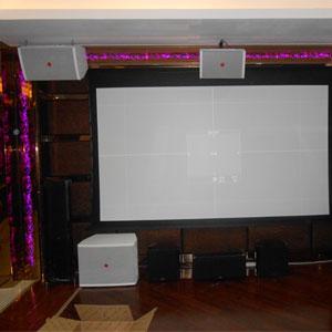 家庭影院音响工程安装的注意事项