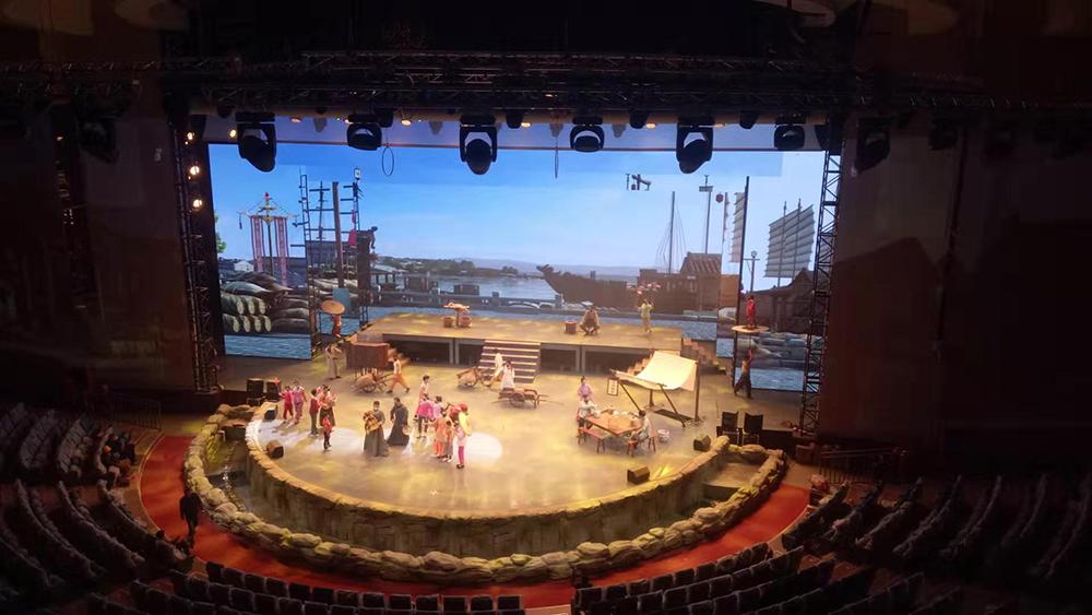 舞台音响设备增进舞台艺术表现力