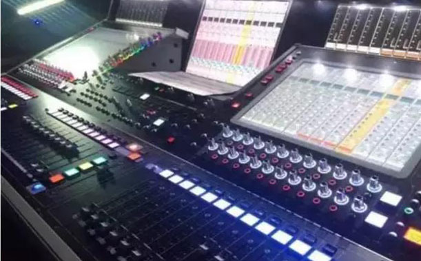 舞台音响调音设备