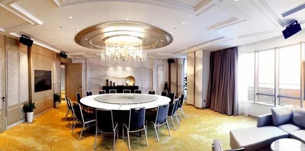 上海阳光城集团总部贵宾餐厅卡拉OK