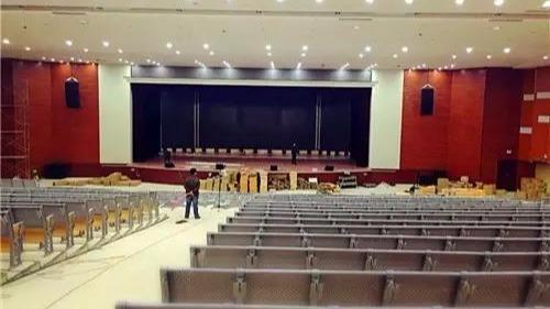 ZOBO卓邦PRS音响打造聊城东方双语学校剧院