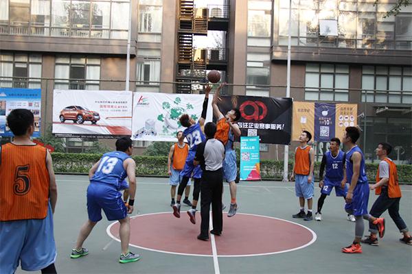 ZOBO卓邦篮球赛首战告捷