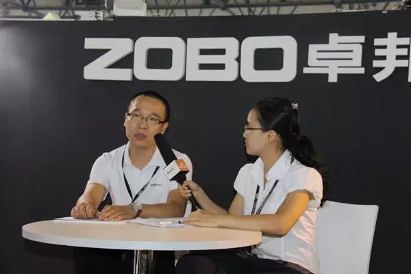 ZOBO卓邦2015PALM展第二天