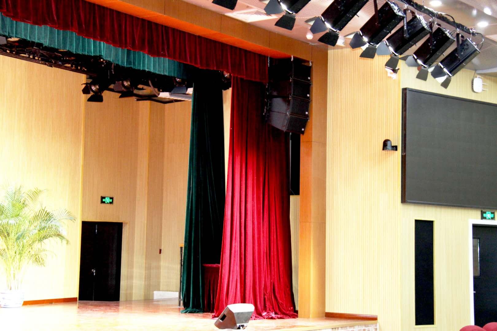 音响设备在舞台演出中的应用