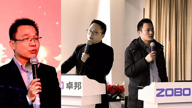 MP部总经理张新强、上海运营中心经理张谊斌、北京大区经理张书杰