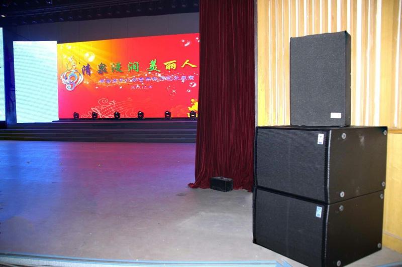 北京丰台少年宫使用蒙特宝舞台音响