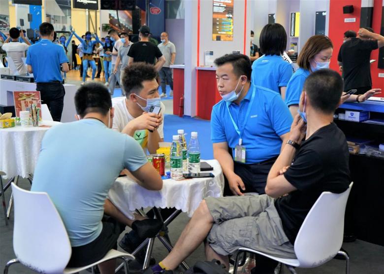 第三天火热依旧、精彩回顾丨ZOBO卓邦在广州展会,欢迎您的到来307
