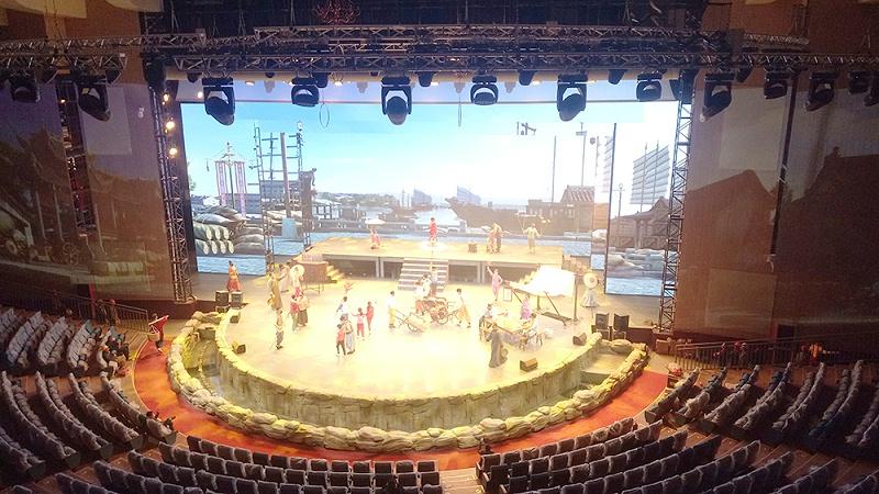 舞台表演艺术中音响设备的作用