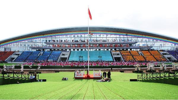 内蒙古建区70周年群众文化体育中心采用ZOBO卓邦音视频系统