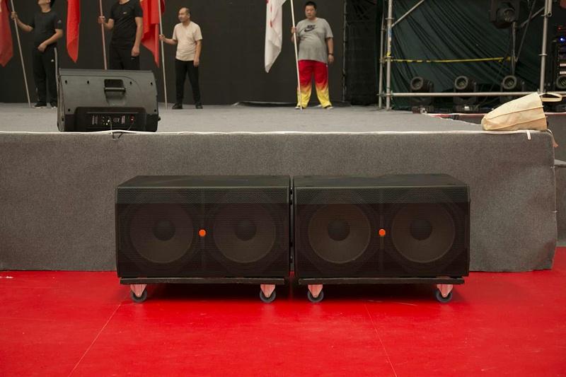 河南省第十三届运动会闭幕式使用PRS舞台音响