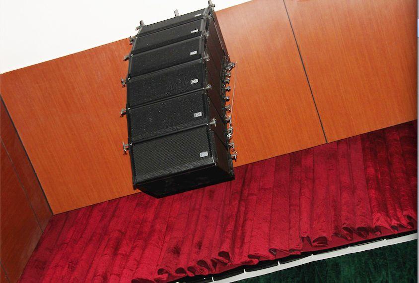 昆明工人文化宫使用蒙特宝舞台音响