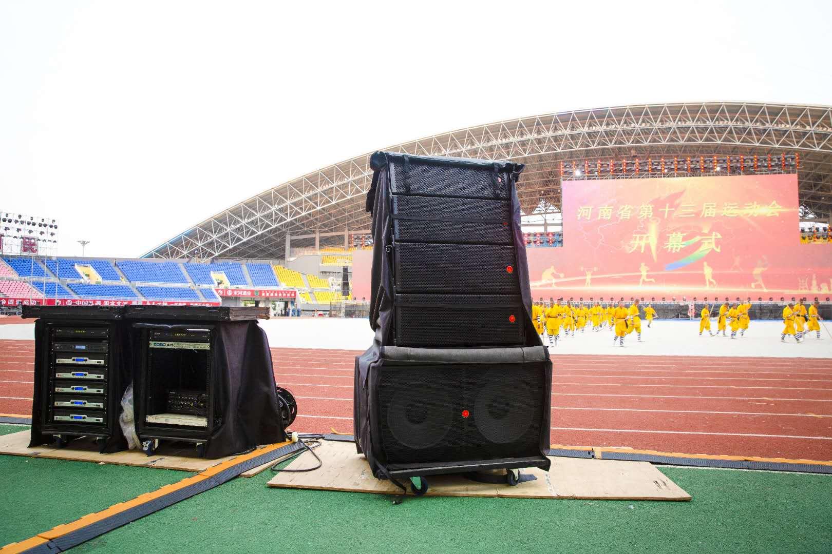 专业音响设备在体育场中的设计与调试