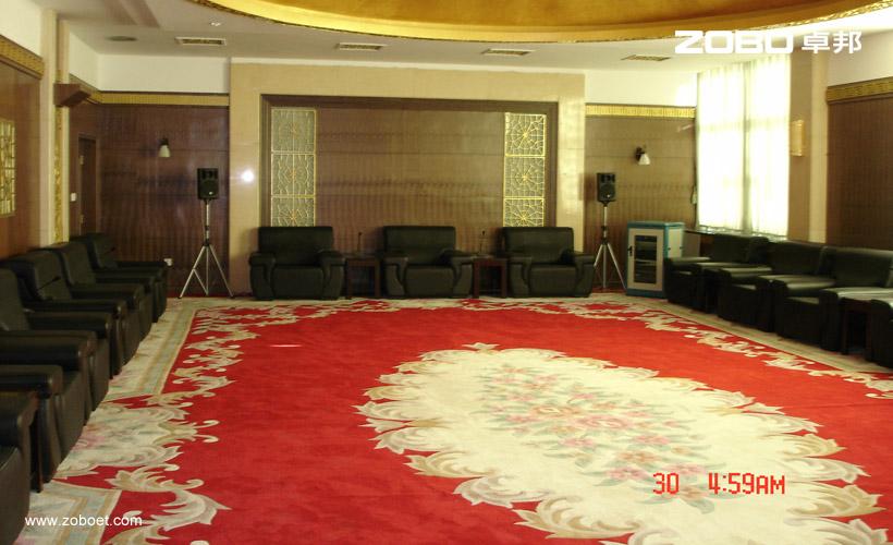 达茂旗会展中心会议室音频扩声系统1