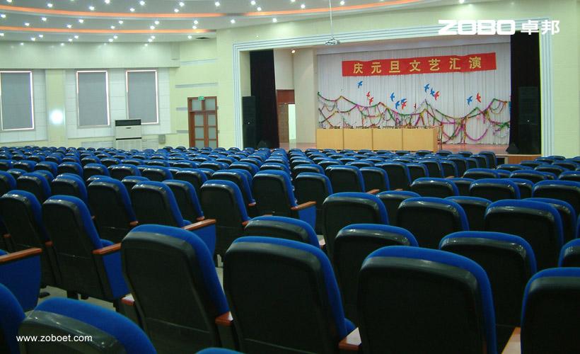 东营一中多功能厅会议扩声系统1