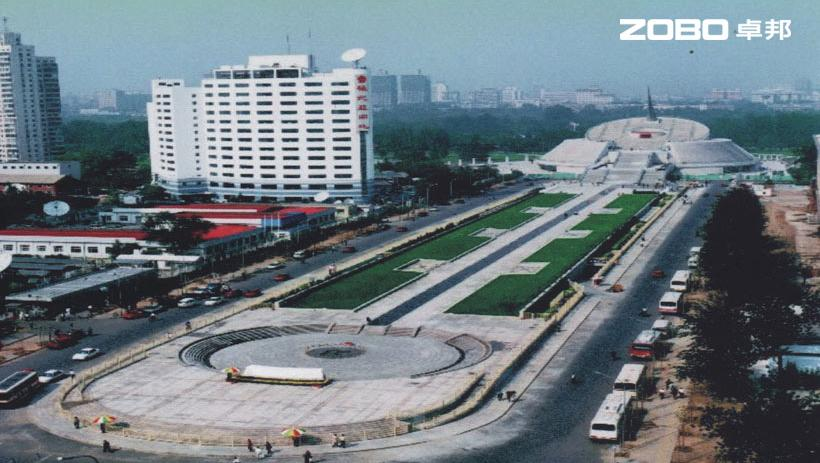 中华世纪坛体育场扩声系统