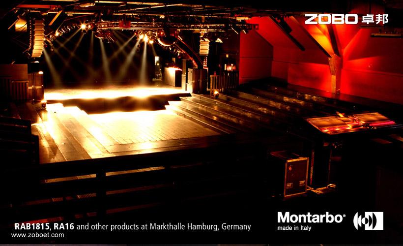 德国MarktHalle音乐会音频扩声项目