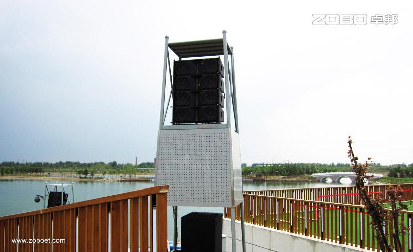 北京南海子公园音乐广播扩声系统1