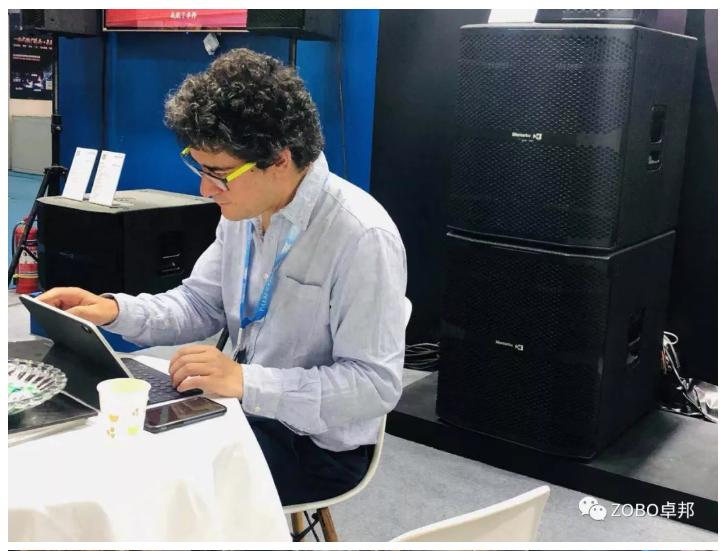2019北京PALM EXPO第二天, 卓邦展位人氣依舊大放異彩