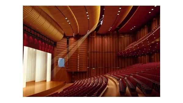 威县影剧院音视频系统工程由ZOBO卓邦音响打造