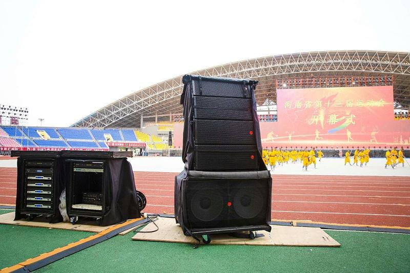 综合体育场馆音响设备扩声系统的设计方案