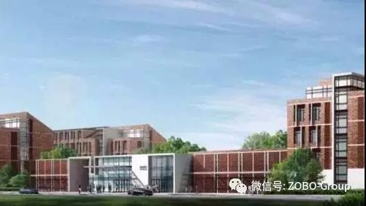 ZOBO卓邦PRS入駐北京亦莊實驗中學游泳館提供擴聲系統