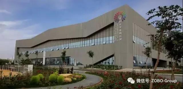 ZOBO卓邦PRS入驻金昌花文化博览馆剧院提供扩声系统