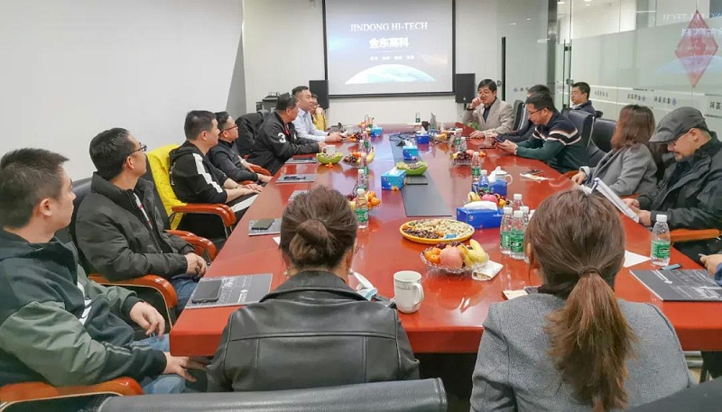 ZOBO卓邦董事長張新峰以北京聲光視訊行業協會會長身份考察新會員企業
