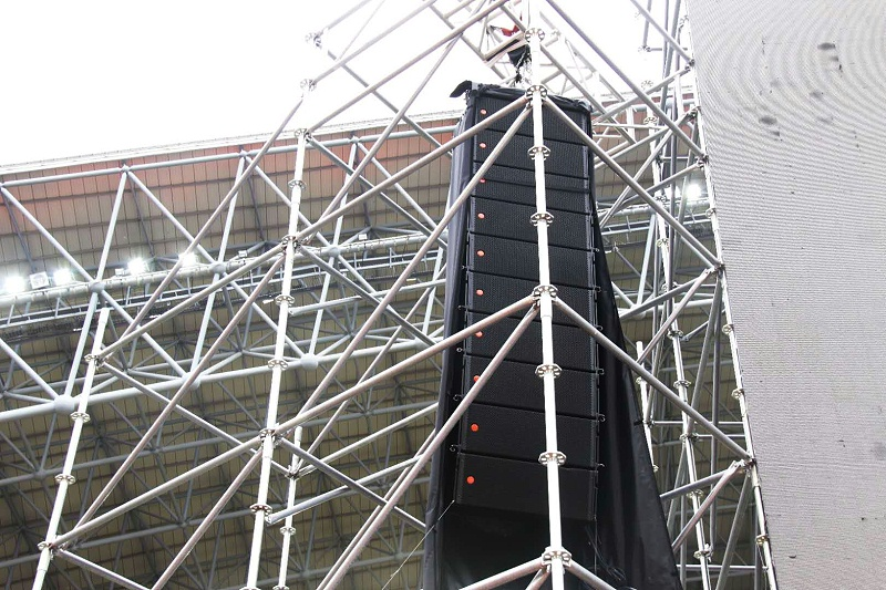 河南第十三届运动会开幕式使用PRS舞台音响