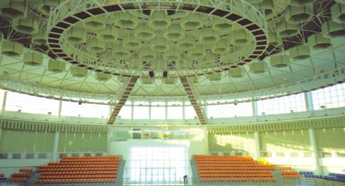吉林大学体育馆音频扩声系统